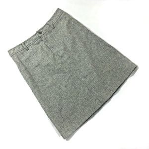 J. Crew Enjoy Pink Label Gray Skirt 8